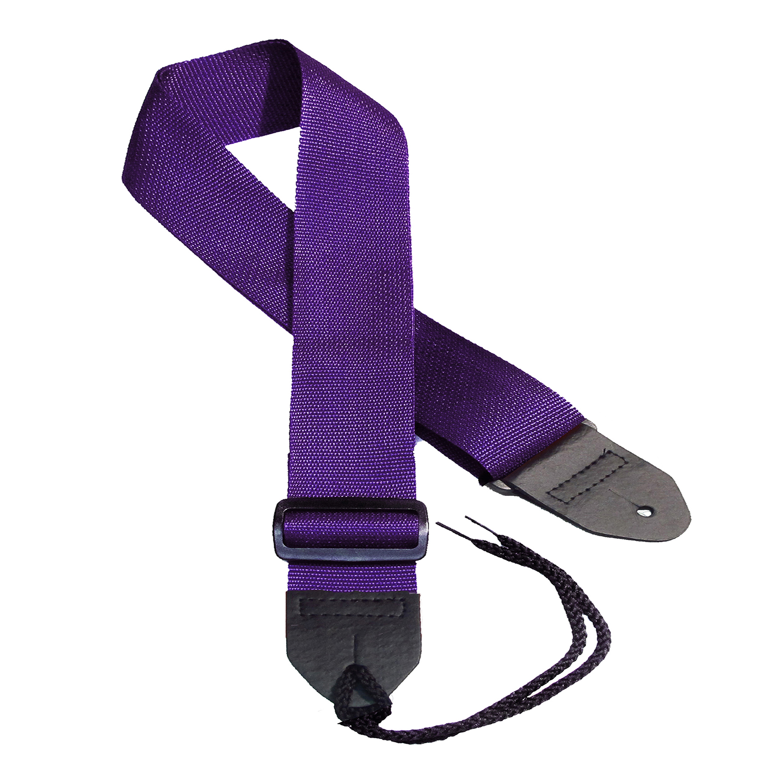 Purple poly guitar straps