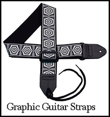 Graphic Guitar Straps