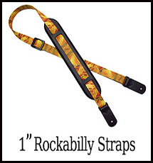 Rockabilly Padded Guitar Strap