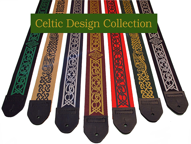 Celtic guitar Strap